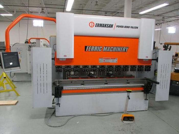 """110 TON X 103"""", 2017 ERMAK FALCON 8.53 X 110, CNC PRESS BRAKE"""