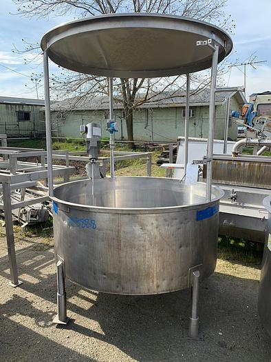 Used Highland 300 Gallon Stainless Steel Mix Tank