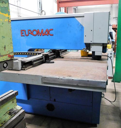 Used 1998 Euromac Single End CNC Punching Machine CX1000/30