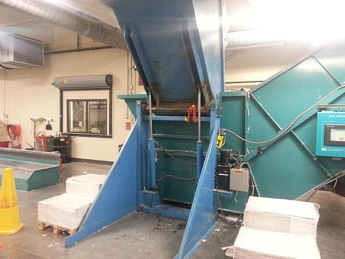"Used 50"" MAREN MODEL 50 PINCH CONVEYOR SHREDDER"