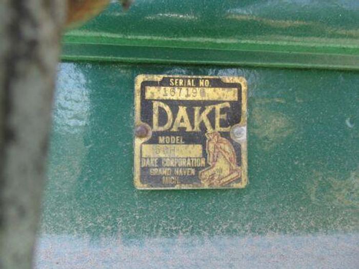DAKE MODEL 50H HAND OPERATED HYDRAULIC H FRAME PRESS - 50 TON