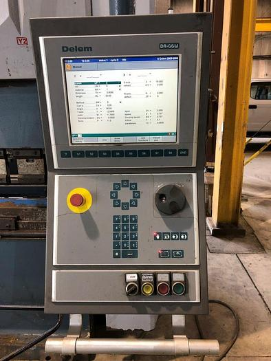 2007 13'x350 Ton Durma AD-S 40320 CNC Hydraulic Press Brake