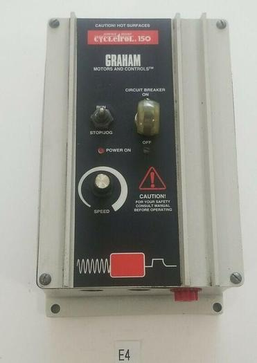 Used *PREOWNED* Graham Transmissions Cycletrol 150 DC Controller 120VAC 176B6000