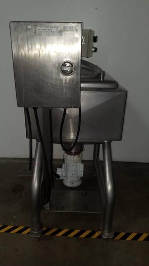 1991 LIQUIFIER 7.5 HP APV CREPACO Stainless Steel Jacketed with Lid