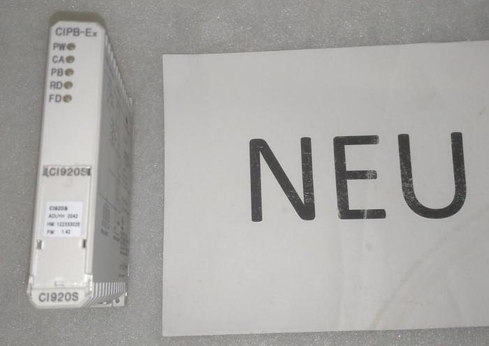 Communication Interface CI920S, CIPB-Ex, ABB,  neu