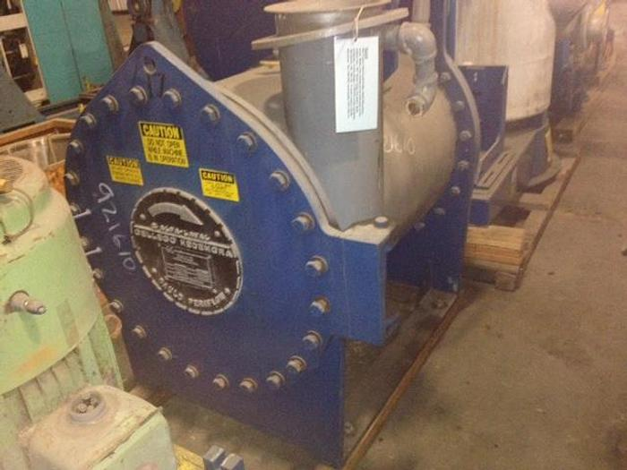 "Used GAULD MDL 550 PRESSURE SCREEN .004"" SLOT 100 TPD"
