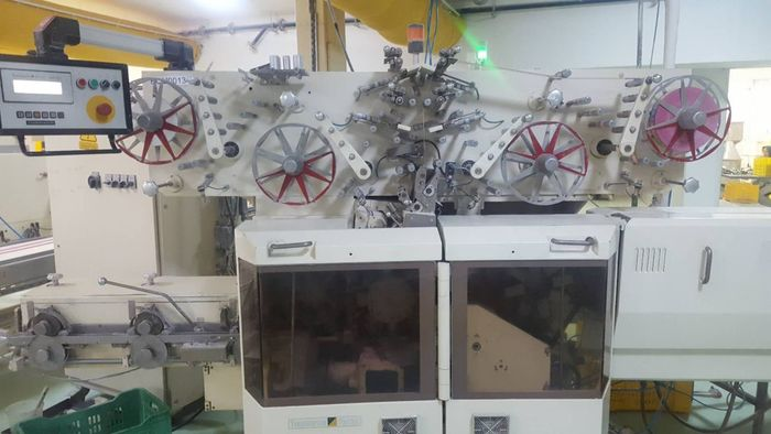 (2) THEEGARTEN-PACTEC CANDY CUT AND FOLD WRAP MACHINE