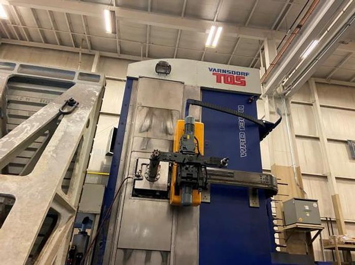 "Used 196""X, 118""Y, 39""Z, TOS, WRD-130Q, 2015, CNC FLOOR TYPE HORIZONTAL BORING MILL"