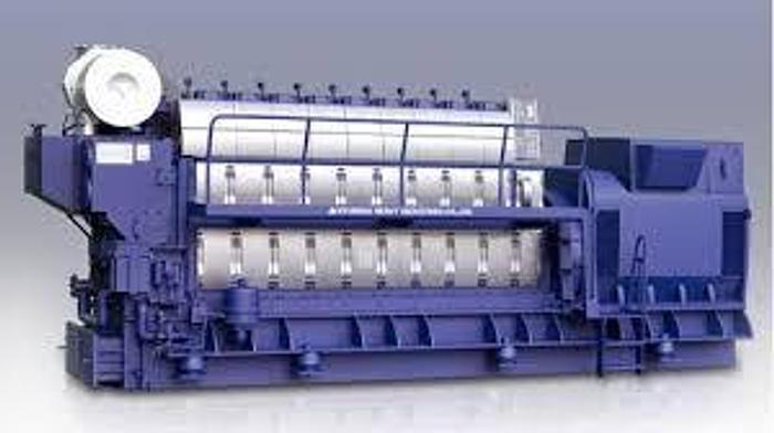 8.51 MW 2019 New Hyundai 9H21/32 HFO Packaged Power Plant