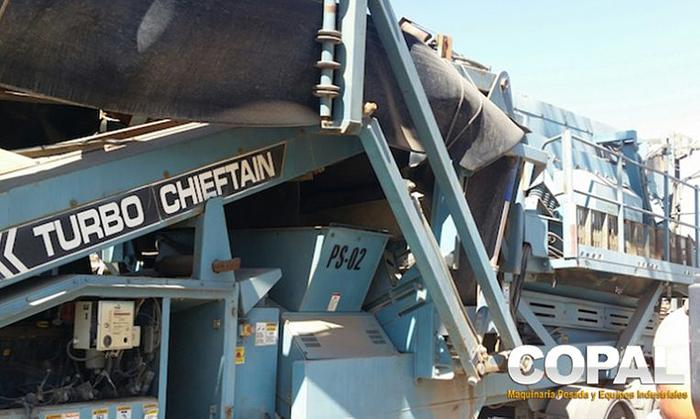 Usado 2004 POWERSCREEN CHIEFTAIN 1800