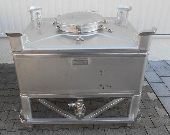 Used X 14896 D - Container 500 ltr. Stainless Steel UMFORMTECHNIK