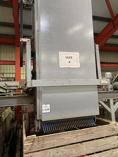 Used Herbert Lower Rater / Box Filler With Belt