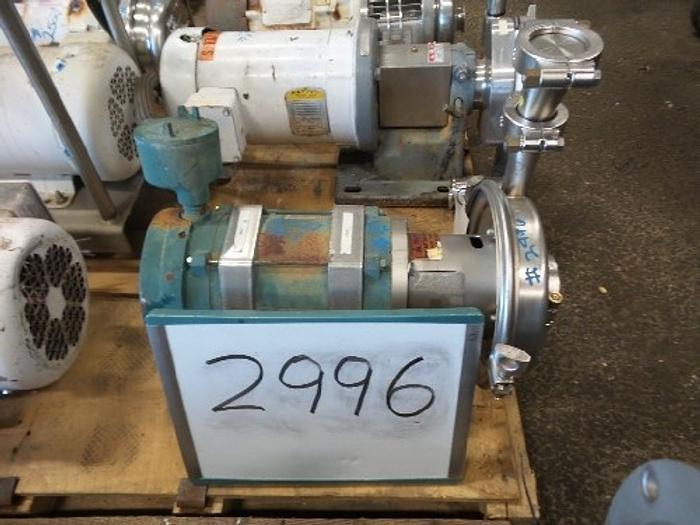 Used Tri Clover 2'' x 1 1/2'' Centrifugal Pump #2996