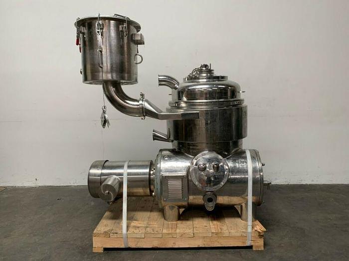 Used Westfalia Centrifuge BKA 35-86-576 w/ Attachment for Blood Plasma 60 Liter Batch