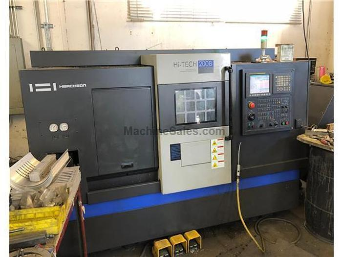 2012 Hwacheon Hi-Tech 200B CNC Turning Center