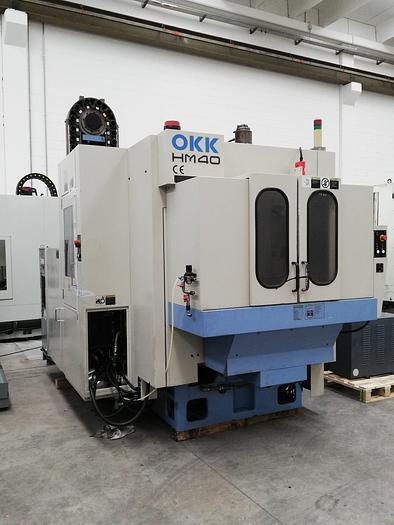 Horizontal Machining Center OKK mod. HM40