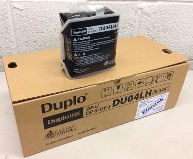 DUPLO Duprinter DUO4LH Black Ink Pack of 12 x 1000cc