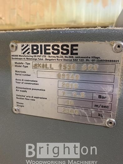 2015 Biesse Skill 1536 G FT CNC