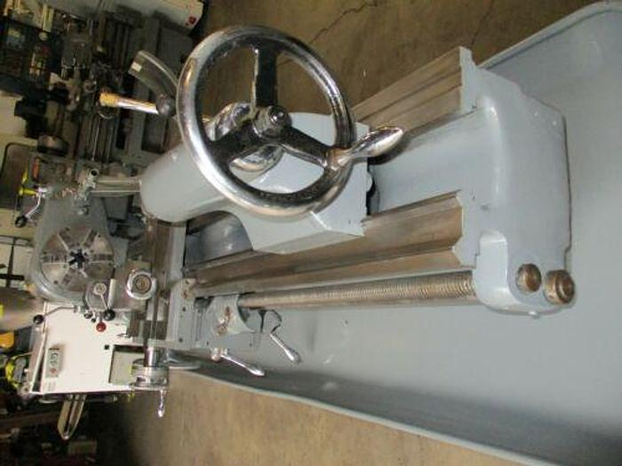"""NICE CLAUSING COLCHESTER 15' X 48"""" ENGINE LATHE WITH 6 JAW BUCK CHUCK"""