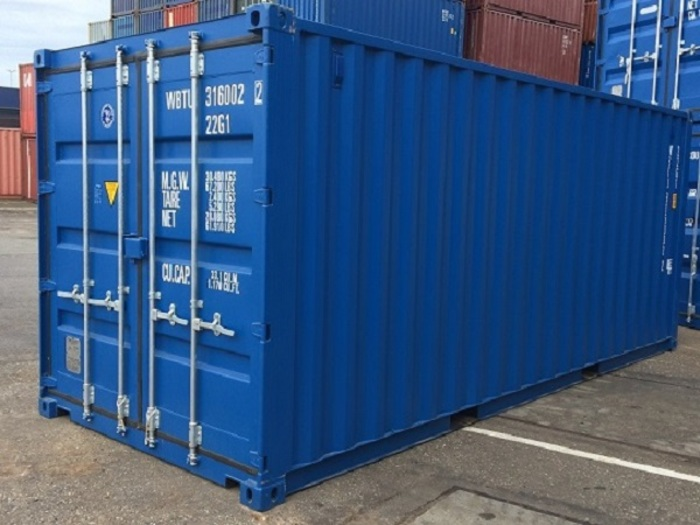 20 'Container Dry Box Steel Floor 8'6 ""