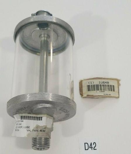 "NEW Lube Devices RD109-04 Drop Feed Lubrication Polymer Reservoir 1/2"" NPT 1U640"