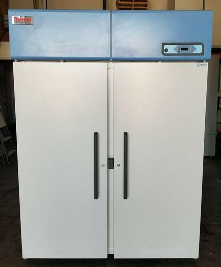 Used Thermo Scientific REL5004A25 Laboratory Double Door Freezer 115V