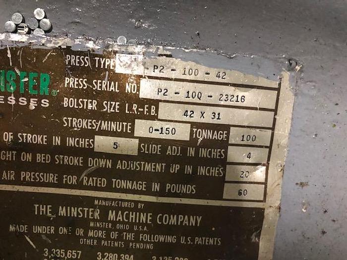 1977 MINSTER P2-100-42