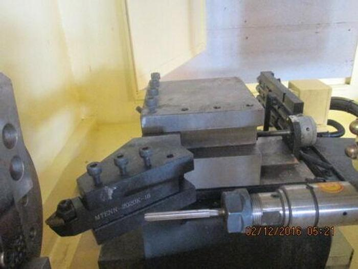 FASTCUT MODEL CY 5032 2ND OP / PRODUCTION LATHE / SPEED LATHE W/ HYD CHUCK PLC