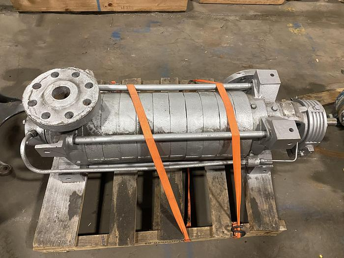 Used CARVER PUMP TYPE RS9B 3 X2X6 PUMP