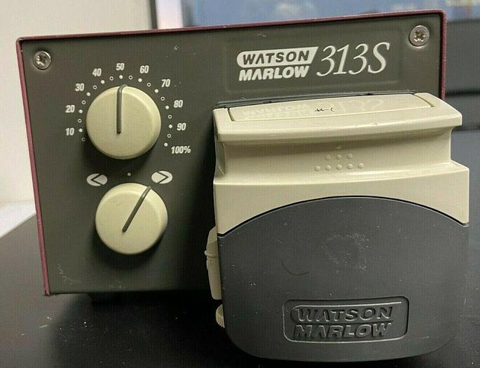Used Watson Marlow 313S, Peristaltic Pump, Pump Head 313DW