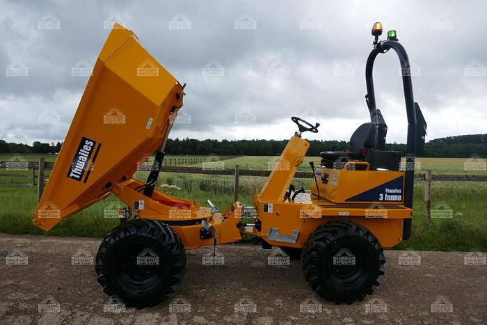 Used 2021 THWAITES 3T POWERSWIVEL