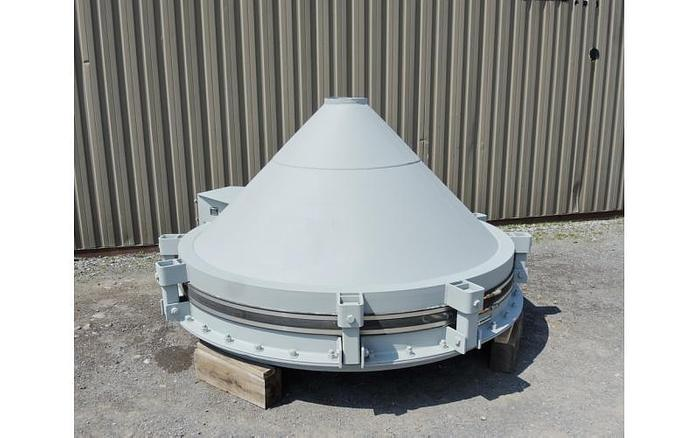 Used USED VIBRATING CONE/BIN ACTIVATOR, 8' DIAMETER, CARBON STEEL