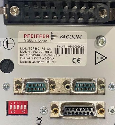Used PFEIFFER  TCP 380 Pump Controller