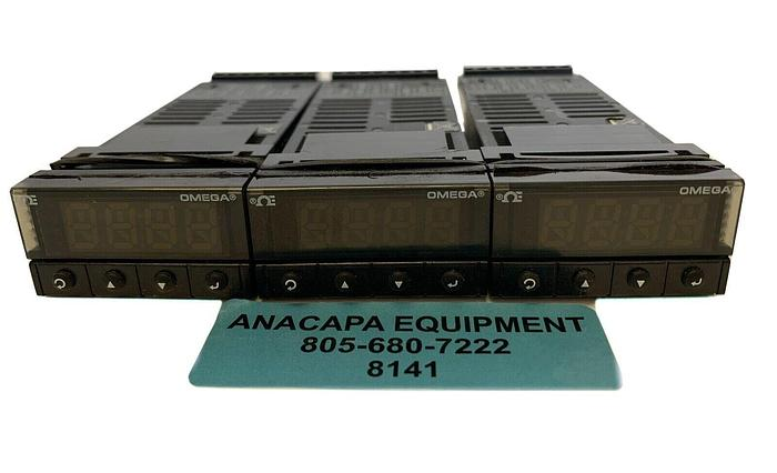 Used Omega CNi3233-C24 PID Controller 90-240V~50-400Hz 4W Max Lot of 3 (8141)W
