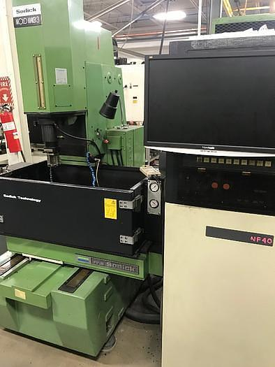 1996 SODICK MOLD MAKER 3 CONVENTIONAL SINKER TYPE EDM WITH NF40 CNC CONTROLLER