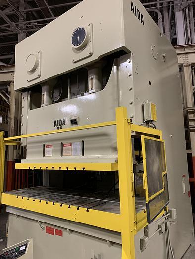 275 ton AIDA 2pt. Gap Frame Press