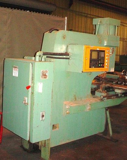 "PEDDINGHAUS CNC C-Frame Hydraulic Plate Punch w/20"" Throat, Fagor 8020 CNC Contr"