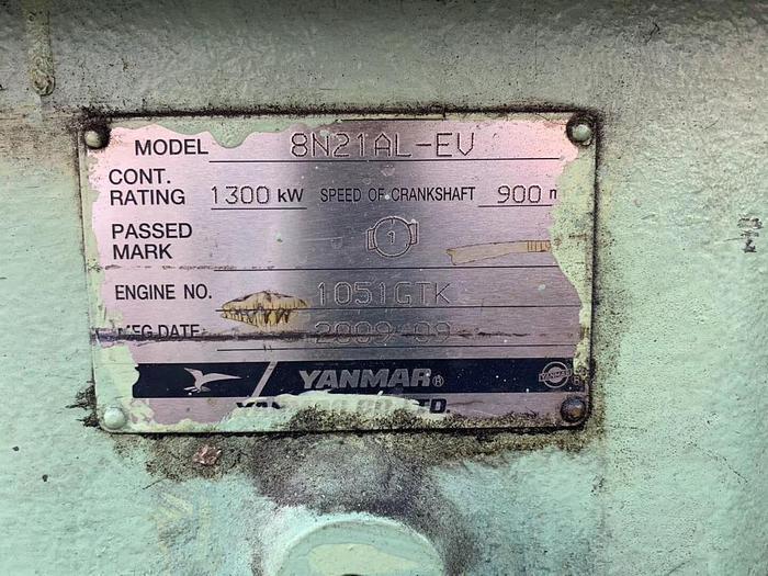 Used Yanmar 8N21AL-EV Generator sets.
