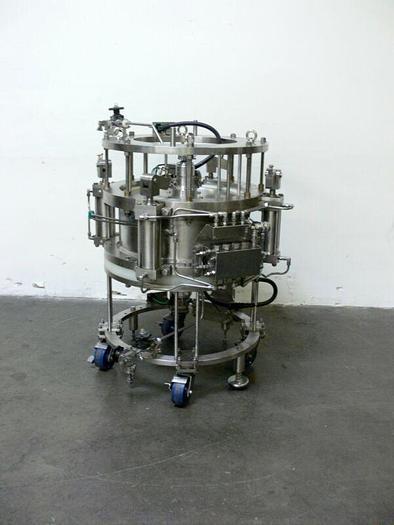 Used Millipore IPS600 x 200 Stainless Steel Chromatography Column 44PSI