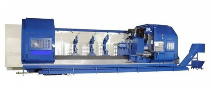 2020 MMT-germany CN  KAN  KBN Serie CNC Flachbettdrehmaschinen mit 4 Bahnenbett
