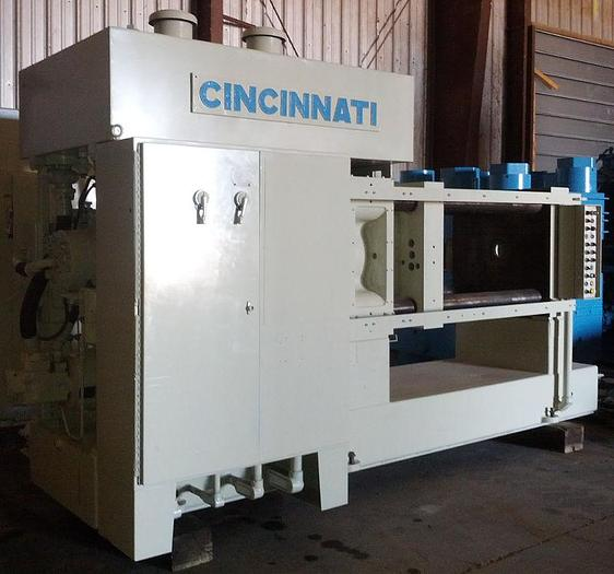 Used 375 Ton Cincinnati Hydraulic Extrusion Press; 4-Column Type