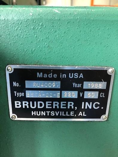 BRUDERER BSTA -22-E