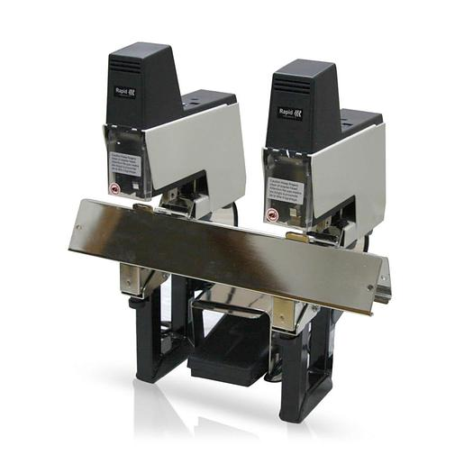 Rapid 106E Twin-Rig Electric Stapler Saddle Stitcher & 15,000 Staples