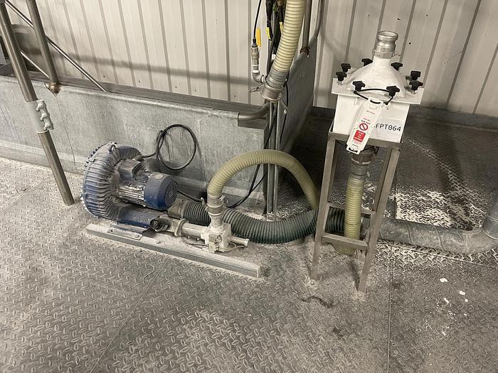 Used SIEMENS ELMO  NNP Side Channel Vacuum Pump with HEPA filter