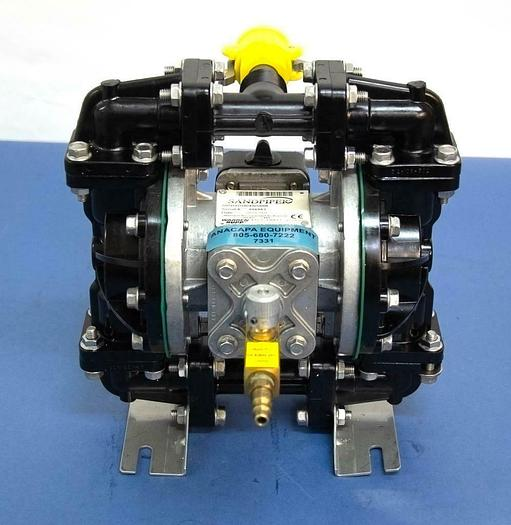 Used Sandpiper S05B1GUDXNS000 Non-Metallic Air Powered Double Diaphragm Pump (7331)R