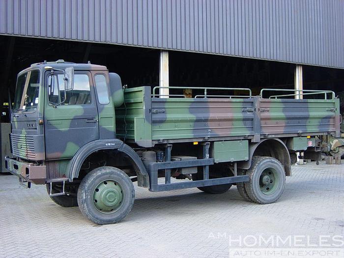 Used Iveco-magirus 110-17 4x4