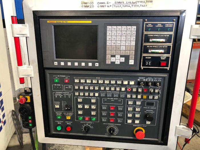 HNK 3 AXIS CNC VERTICAL TURNING CENTER MODEL VTC 16/20R