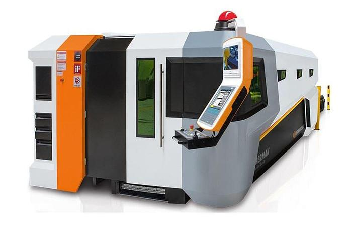 2019 2000 Watt Ermak Fibermak Gen-3 Fiber Laser Cutting Machine