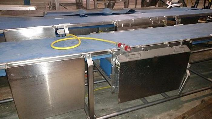30' POWERED WASHDOWN CONVEYOR (2 AVAILABLE)