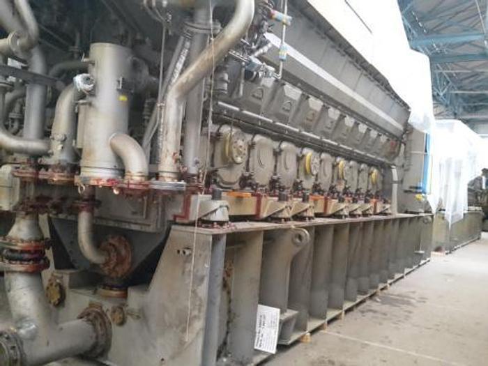 8.70 MW 2009 18V32 Diesel Generator
